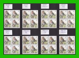 BUZIN - 2457** Sizerin Flammé / Barmsijs - Série Complète - 1985-.. Pájaros (Buzin)