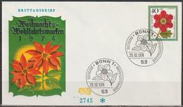 BRD FDC 1974 Nr.824 Weihnachten  ( D3989 )Günstige Versandkosten - FDC: Enveloppes