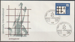 BRD FDC 1974 Nr.814 Amnesty International   (d 3987 )Günstige Versandkosten - FDC: Enveloppes