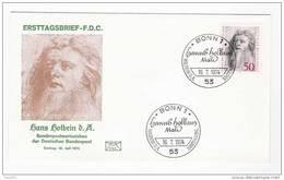 BRD FDC 1974 Nr.813 450.Todestag Hans Holbein D.Ä.  ( D 363 )Günstige Versandkosten - FDC: Enveloppes