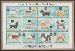Antigua Y Barbuda **   Mnh   1994  YVERT  1679/90  PERROS - Antigua Y Barbuda (1981-...)