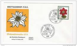 BRD FDC 1974 Nr.824 Weihnachten  ( D358 )Günstige Versandkosten - FDC: Enveloppes