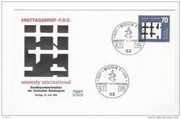 BRD FDC 1974 Nr.814 Amnesty International   (d 362 )Günstige Versandkosten - FDC: Enveloppes