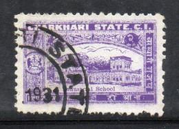 XP2157 - CHARKHARI INDIA ,  2 Anna Esemplare Usato - Charkhari