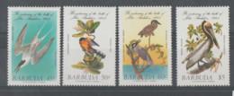 Antigua Y Barbuda **   Mnh   1985  YVERT  741/44  VALOR  8.50 €  PAJAROS - Antigua Y Barbuda (1981-...)