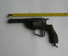 Pistolet A Amorce Solido, Années 60-70 - Toy Memorabilia