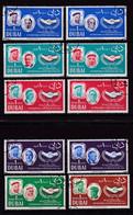 Dubai 1965, Complete Set ICY, Vfu. Cv 10 Euro - Dubai
