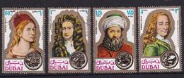 Dubai 1971, Complete Set Painters, Vfu. Cv 4,50 Euro - Dubai