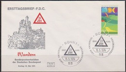 BRD FDC 1974 Nr.808 Wandern (d 192 )  Günstige Versandkosten - FDC: Enveloppes