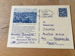 GÖ1943 Österreich Ganzsache Stationery Entier Postal P 418a 56/30 Pörtschach - Enteros Postales
