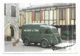 Bibliobus Du Tarn Camion Goelette Renault 1945-1995 Le Voltigeur - Unclassified