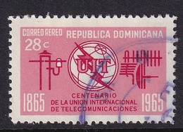 Dominican Republic 1966, UIT, Minr 862 Vfu - República Dominicana