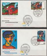 BRD FDC 1974 Nr.798-799 Deutscher Expressionismus (d 3009)Günstige Versandkosten - Sin Clasificación