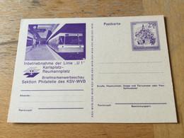 GÖ1943 Österreich Ganzsache Stationery Entier Postal P 450I Wien U-Bahn - Enteros Postales