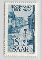 MiNr.258 X (Falz) Deutschland Saarland (1945-1949) - Unused Stamps
