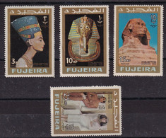 Fujeira 1966, Selection Egypt, MNH - Fujeira
