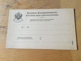 GÖ1943 Österreich Ganzsache Stationery Entier Postal Formularkarte Ruthenisch - Enteros Postales