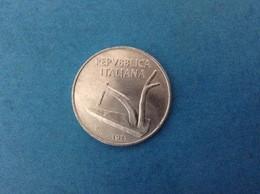1971 ITALIA REPUBBLICA MONETA DA 10 LIRE SPIGHE FDC UNC DA ROTOLINO - 10 Lire