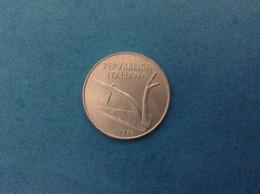 1974 ITALIA REPUBBLICA MONETA DA 10 LIRE SPIGHE FDC UNC DA ROTOLINO ITALY COIN - 10 Lire