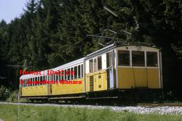 ReproductionPhotographie D'une Vue D'un Train à Crémaillère à Wendelsteinbahn En Bavière Allemagne 1969 - Reproducciones