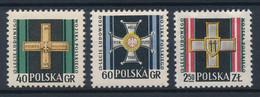 POLEN / POLAND / POLSKA  -  1958  ,   15 Jahre Volksarmee  -  Michel  1069/70   MNH / ** - Unused Stamps