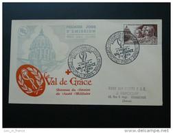 FDC Médecine Militaire Val De Grace 1951 Paris Cote 60 Euros - 1950-1959