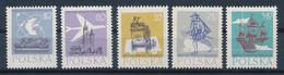 POLEN / POLAND / POLSKA  -  1958  ,   400 Jahre Polnische Post  -  Michel  1063-1067   MNH / ** - Unused Stamps
