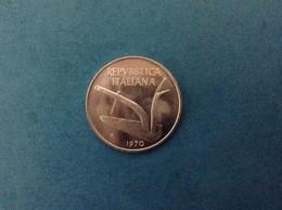 1970 ITALIA REPUBBLICA MONETA DA 10 LIRE SPIGHE FDC UNC DA ROTOLINO ITALY COIN - 10 Lire