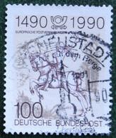 100 Pf Postverbindungen In Europa Mi 1445 1990 Used Gebruikt Oblitere Germany BRD Allemange - Oblitérés