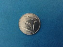 1980 ITALIA REPUBBLICA MONETA DA 10 LIRE SPIGHE FDC UNC DA ROTOLINO ITALY COIN - 10 Lire