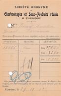 2 Scans Carte Entier Postal Flawinne à Farciennes Charbonnages Et Sous-produits Réunis à Flawinne - Postales [1871-09]