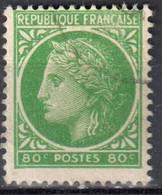 France 1945 - Mi.679 - Used - Oblitéré - 1945-47 Cérès De Mazelin