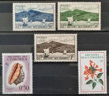 COMORES - N°1-2-3-19-69 -  Neuf Sans Charnières ** MNH - Neufs