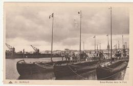 SAINT+ MALO - Sous Marins Dans Le Port - Warships