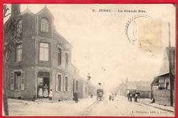 -- JUSSY (Aisne) - LA GRANDE RUE -- - Other Municipalities