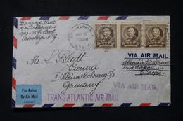 ETATS UNIS - Enveloppe De New York Pour L'Allemagne Avec Contrôle Postal - L 90678 - Briefe U. Dokumente