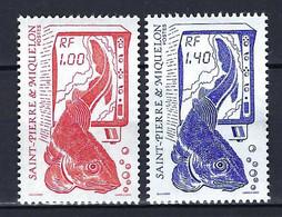 ⭐ Saint Pierre Et Miquelon - YT N° 472 Et 473 * - Neuf Avec Charnière - 1986 ⭐ - Neufs