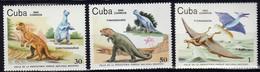 CUBA - Faune, Dinosaures - Y&T N° 2602-2608 - MNH - 1985 - Non Classés