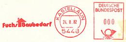 Freistempel Kleiner Ausschnitt 545 Fuchs Baubedarf - Marcofilia - EMA ( Maquina De Huellas A Franquear)