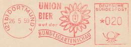 Freistempel Kleiner Ausschnitt 556 Union Bier Bundesgartenschau - Marcofilia - EMA ( Maquina De Huellas A Franquear)
