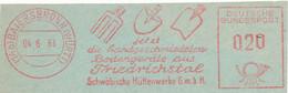 Freistempel Kleiner Ausschnitt 557 Gartengeräte Schaufel Spaten Grabegabel - Marcofilia - EMA ( Maquina De Huellas A Franquear)