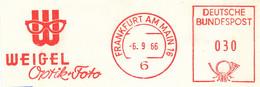 Freistempel Kleiner Ausschnitt 559 Brille - Marcofilia - EMA ( Maquina De Huellas A Franquear)