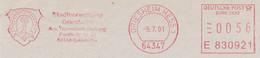 Freistempel Kleiner Ausschnitt 566 Wappen Hufeisen - Marcofilia - EMA ( Maquina De Huellas A Franquear)
