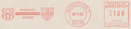 Freistempel Kleiner Ausschnitt 568 Wappen Hufeisen - Marcofilia - EMA ( Maquina De Huellas A Franquear)