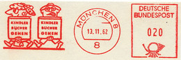Freistempel Kleiner Ausschnitt 570 Mann Und Frau Mich Büchern - Marcofilia - EMA ( Maquina De Huellas A Franquear)