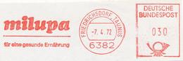 Freistempel Kleiner Ausschnitt 573 Milupa Ernährung Kind - Marcofilia - EMA ( Maquina De Huellas A Franquear)