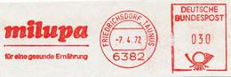 Freistempel Kleiner Ausschnitt 574 Milupa Ernährung Kind - Marcofilia - EMA ( Maquina De Huellas A Franquear)