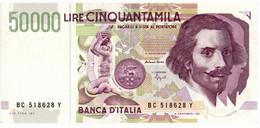 Italia - 50.000 Lire 1995 Bernini II - 50000 Liras