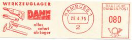 Freistempel Kleiner Ausschnitt 576 Werkzeuge Bohrer Hammer Messschablone - Marcofilia - EMA ( Maquina De Huellas A Franquear)