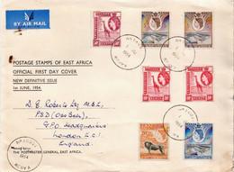 Postal History Cover: K.U.T. Cover From 1954 - Kenya, Uganda & Tanganyika